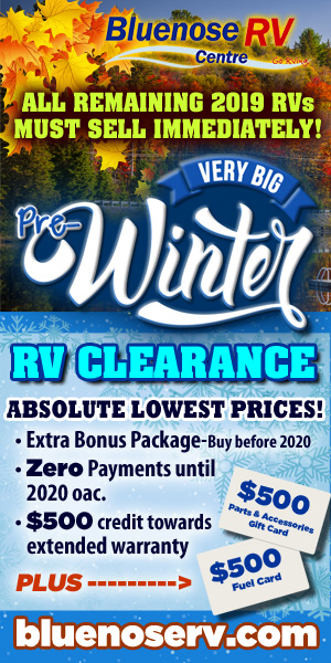 Pre Winter RV Clearance Sale Going On Now!