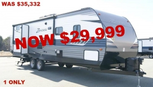 New 2018 CrossRoads RV Zinger ZR280BH Travel Trailer