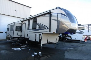 New 2021 Forest River Sandpiper 321 RL Fifth Wheel Trailer