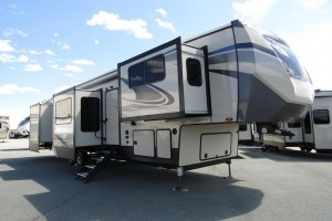 New 2021 Forest River Sandpiper 379FLOK Fifth Wheel Trailer