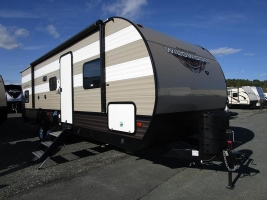 New 2019 Forest River Wildwood 26DBLE Travel Trailer