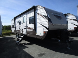 New 2019 Forest River Wildwood 28DBUD Travel Trailer