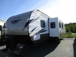 New 2019 Forest River Wildwood 32BHDS Travel Trailer