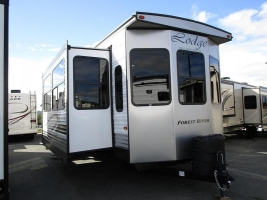 New 2019 Forest River Wildwood Lodge 393FLT Park Trailer