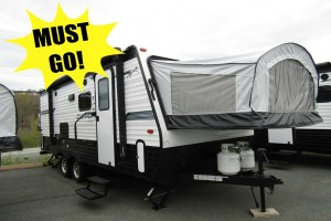 New 2019 Coachmen Clipper 7ft 6in 19TB Hybrid Trailer