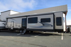 New 2021 Forest River Sandpiper Destination 399LOFT Park Trailer