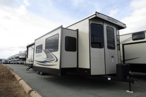New 2021 Forest River Sandpiper Destination 402FK Park Trailer