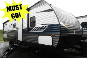 New 2019 CrossRoads RV Zinger ZR258BH Travel Trailer