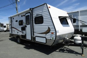Used 2015 Forest River VIKING 17BH Travel Trailer