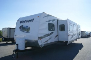Used 2012 Forest River Wildwood 29 BHSS Travel Trailer