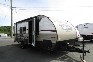 Used 2015 Forest River Wolfpup 16FQ Travel Trailer