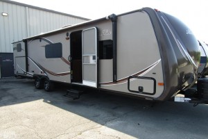 Used 2014 HOLIDAY RAMBLER ALUMA-LITE 298KBS Travel Trailer