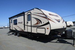 Used 2015 KEYSTONE BULLET 248RKS Travel Trailer