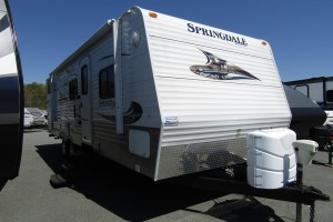 Used 2012 KEYSTONE SPRINGDALE 267BHSSR Travel Trailer