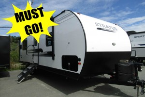 New 2019 Venture Stratus 261VRK Travel Trailer