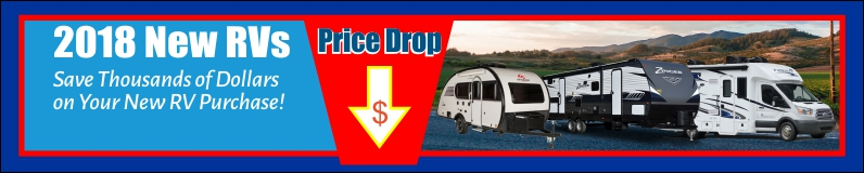 These 2018 RVs Reduced!